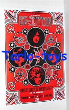 LED ZEPPELIN - Seattle, Usa - 17 luglio 1977  poster concerto
