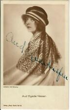 Aud Egede Nissen Ross 1144/1 signiert,  Autogramm