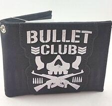 NJPW NEW JAPAN PRO WRESTLING BULLET CLUB BIFOLD WALLET GREAT FOR KENNY OMEGA FAN