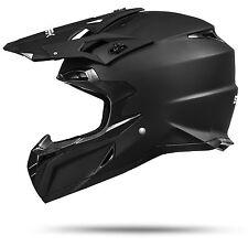 MX Mexico Schwarz matt Endurohelm Motorradhelm Crosshelm Enduro Cross Helm ATO