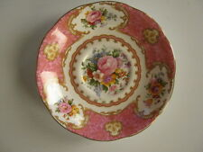 "ROYAL ALBERT - ""LADY CARLYLE"" - Saucer - GC - Bone China, England (c) 1944"