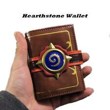Hand-made Hearthstone: Heroes of Warcraft Game Card Package Unisex PU Wallet