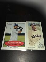 Texas Rangers Mini Cards Roughned Odor And Juan Gonzales AG And Heritage