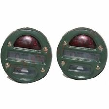 Pair Military Cat Eye TailLight R/H L/H Side 2 Units Willys Jeep Truck CDN