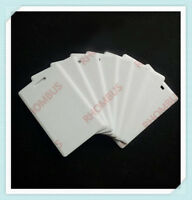 T5577 125Khz  RFID 2MM Thick Clamshell PVC Writable Programable Card