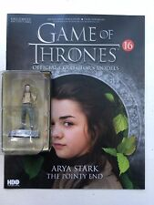 GAME OF THRONES ISSUE 16 ARYA STARK EAGLEMOSS ACTION FIGURE COLLECTABLES
