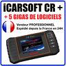 Valise Diagnostique Pro Multimarque En Français Obd2 avec Ecran iCarsoft CR PLUS