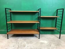 2 Bay Ladderax Shelving System. Courier Available