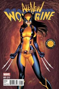 ALL NEW WOLVERINE #1 TCH J SCOTT CAMPBELL COLOR VARIANT MARVEL NEAR MINT