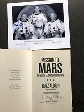 More details for genuine neil armstrong / buzz aldrin autographs
