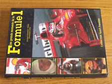 16$$ Livre Les grands moments de la Formule 1 Lauda Senna Schumacher Hill etc...