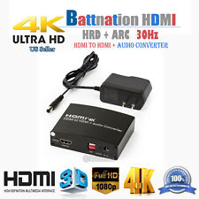 HDMI 1.4b to HDMI+Audio Converter/HDCP 1.4/Support 4Kx2K/DTS-HD,Dolby-trueHD,DTS