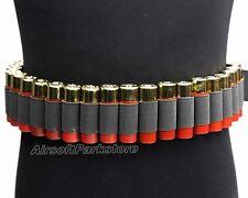 Hunting 29 Round Shotgun Shell Ammo Sling Belt Bandoliers for 12GA 20GA BK/OD