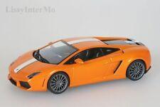 Lamborghini Gallardo LP 550-2 Balboni 2009 Orange Metallic Autoart 1:43 Nouveau/Neuf dans sa boîte