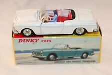 Dinky Toys 528 Peugeot 404 Cabriolet WHITE very near mint in box all original