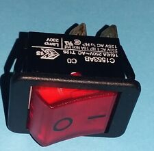 Switch C1553 from Red Toggle Switch Rocker Switch 230V 16A 250V NOS Quality