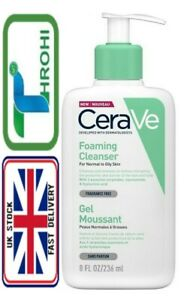 NEW CeraVe Foaming Cleanser | 236ml| Daily Face & Body Wash Authentic