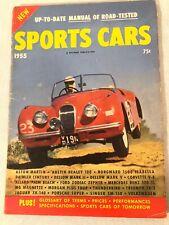 1955 Sports Cars Magazine Aston Martin Austin Healey Porsche Corvette