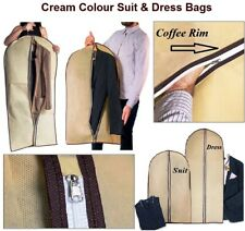 SUIT BAG COVERS BREATHABLE CLOTHES DRESS SHIRT COVER LONG SUIT TRAVEL BAGS NEW