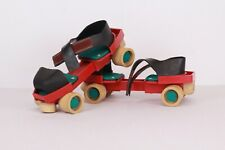 Roller Skates Adjustable Size Vintage Roller with 4 Wheels Disco The 80s
