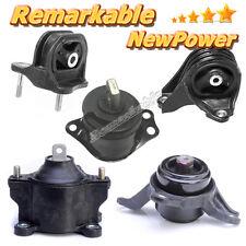 Transmission Trans Engine Motor Mounts G257 For 13-16 Honda Accord 2.4L AT