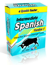 eSpanishTeacher Learn To Speak Intermediate Spanish Language Software Course 2