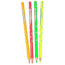 Coloriage : 4 Crayons de Couleur Néon Tendance