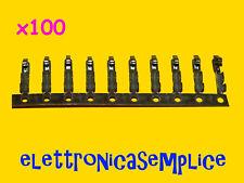 contatto pin connettore MK 100 pezzi (B60)