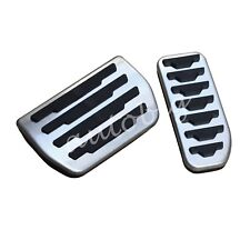 No Drill Gas Brake Pedal Cover For Jaguar XE XF F-Pace Discovery Sport Evoque