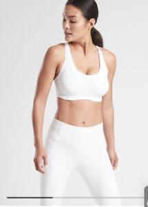Athleta Prestige Glory 2.0 Bra, White SIZE 38DD 38 DD              #210820 T0531
