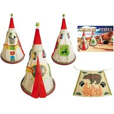 Child Childrens Play Teepee Wigwam Tent Den - Cowboys and Indians Tipi