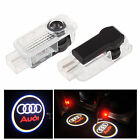 2x Car door Led Welcome laser projector Logo Ghost Shadow Light Special For Audi