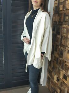 Bassike Linen Kimono Style Jacket