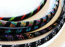 Professional COLLAPSIBLE Adult Exercise Hula Hoop! Awesome Patterns UK Hand Made