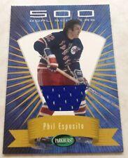 2001-02 Parkhurst 500 Goal Scorers Jersey New York Rangers Phil Esposito #04