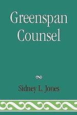 GREENSPAN COUNSEL - NEW HARDCOVER BOOK