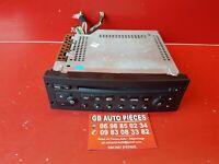 CITROEN C2 C3 PEUGEOT 206 307 AUTORADIO POSTE CD REF 9636597577