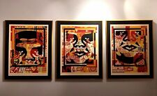 Large Format Obey Collage Icon Set | Shepard Fairey