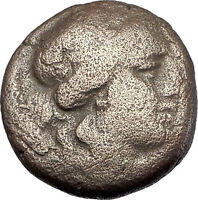 LARISSA Thessaly THESSALIAN LEAGUE 2-1BC Apollo Athena Ancient Greek Coin i61531