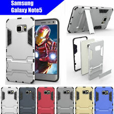 Unbranded/Generic Metallic Mobile Phone Cases, Covers & Skins for Samsung Galaxy Note5 with Kickstand