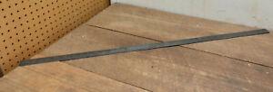 """L957- Vintage Lufkin No.95 Metal Workers Steel Ruler Machinist Tool  36"""""""