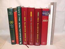 § 10 guides Œnologie - Vins années 1998 à 2013, Hachette, Gd Crus de Bordeaux §