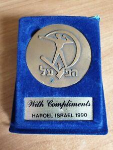PLAQUE sport club HAPOEL Israel Jewish from 1990 original package