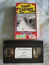 Snow Extreme III (3) - VHS Tape - Sports / Snowmobiling - Yamaha - Arctic Cat