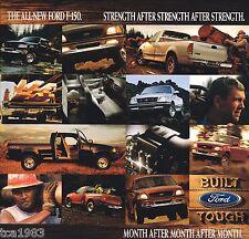1997 Ford F-150 Truck (1996) Calendar w/ Brochure Info, F150, Triton, 4x4,