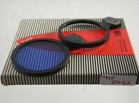 Linhof Blau Blue Korrektur Einsteck Insert Slip-In Filter Lens 43mm 43Ø 2952/9