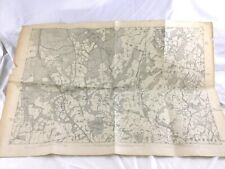 1879 Antique Map of Sussex Balcombe Ardingley West Hoathly Danehill