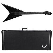 DEAN V Dave Mustaine Stradi VMNT Classic Black CBK Guitar NEW w/ Hardshell Case