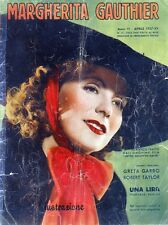 MARGHERITA GAUTHIER-Cinema illustrazione N°31/APR/1937 GRETA GARBO-ROBERT TAYLOR