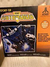 Story Of ATARI ASTEROIDS 1982 Audio Book Set W/O Cassette
